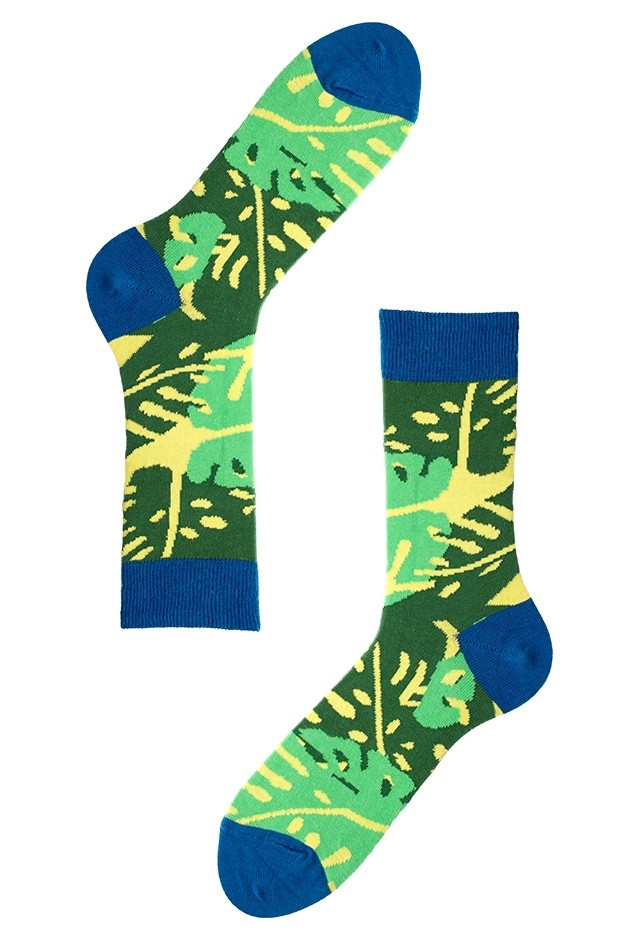 Зелёные носки