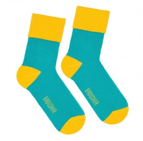 Носки тёплые «Бирюза»