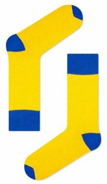 Носки двухцветные